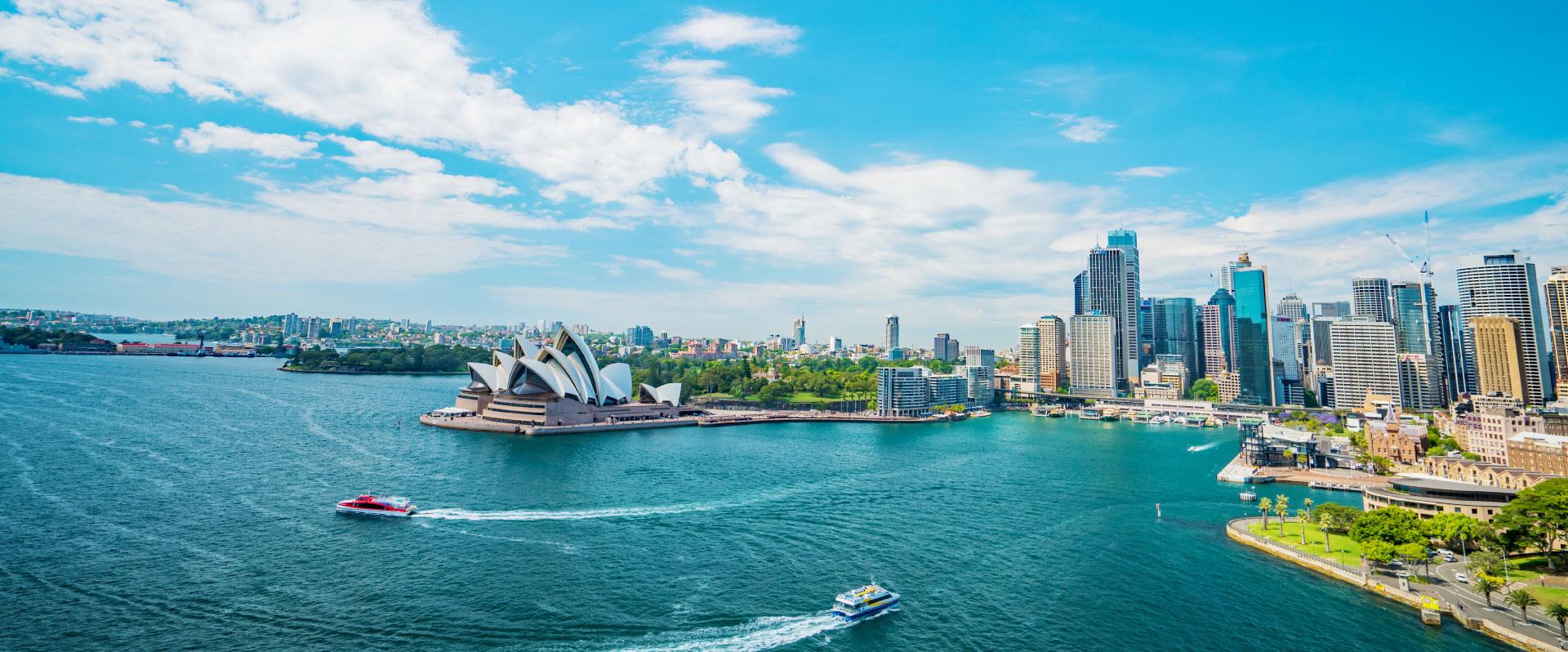 シドニーの提携校数、日本一、100校・1000コースからご紹介可能