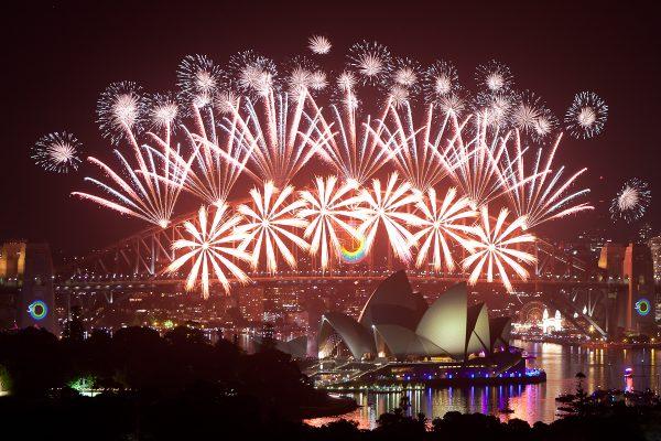シドニーのニューイヤー花火