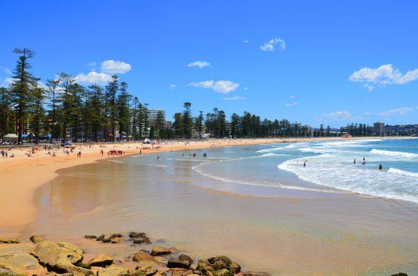 シドニーのマンリービーチ