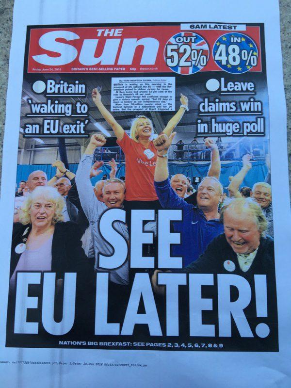 EUから離脱
