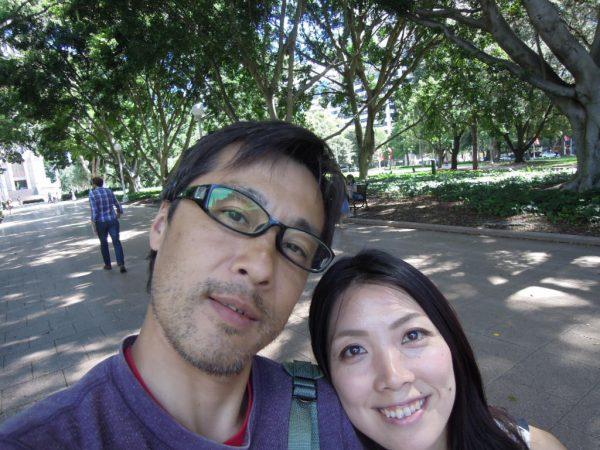 大内さんワーホリ体験談 お二人での写真