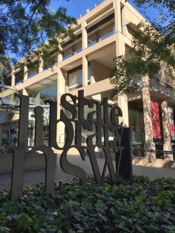 NSW州立図書館1